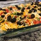 Recipe: Mexican Layer dip
