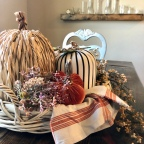 Home Decor: Fall Table Decor & how to make your own