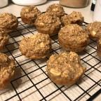 Recipe: Healthy Apple Cinnamon Oatmeal Muffins (no sugar added)