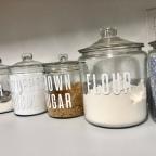 Home Decor: Kitchen Labels